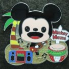 95244 Disney Pin 2010 HKDL - Mickey on the Beach