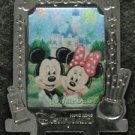 57670 Disney Pin 2007 HKDL - Mickey & Minnie in Silver Frame