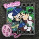 102743 Disney Pin 2009 HKDL - Mickey Minnie on a bench in the rain (Filmstrips)