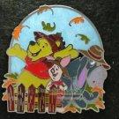 64864 Disney Pin 2008 HKDL - Pooh & Friends - Seasons Version 2 (Fall)