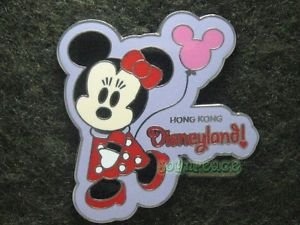 41328 Disney Pin 2005 HKDL - Cute Characters - Minnie Mouse - With Balloon