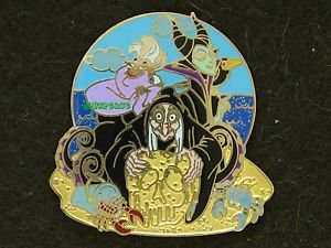 90372 Disney 2011 HKDL Mystery Tin Pin Golden Beach Coll - The Villains
