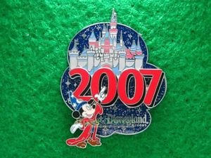 51640 Disney Pin 2007 - Sleeping Beauty Castle Collection - Sorcerer Mickey