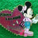 Disney Pin 2008 HKDL - Minnie Fashion - Glittered Heart
