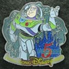 82283 Disney Pin 2011 HKDL 5th Anniversary Mystery Collection - Buzz (Toy Story)