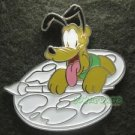 76277 Disney 2010 HKDL - Color Your Own Pins - Mickey and Friends Set (Pluto)