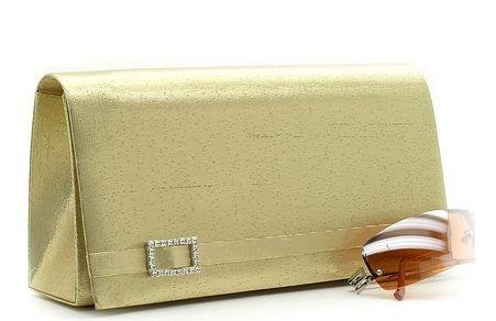 CLASSY SATIN  VINTAGE STYLE EVENING BAG