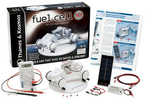 Fuel Cell 10 Car and Experiment Kit by alextoys