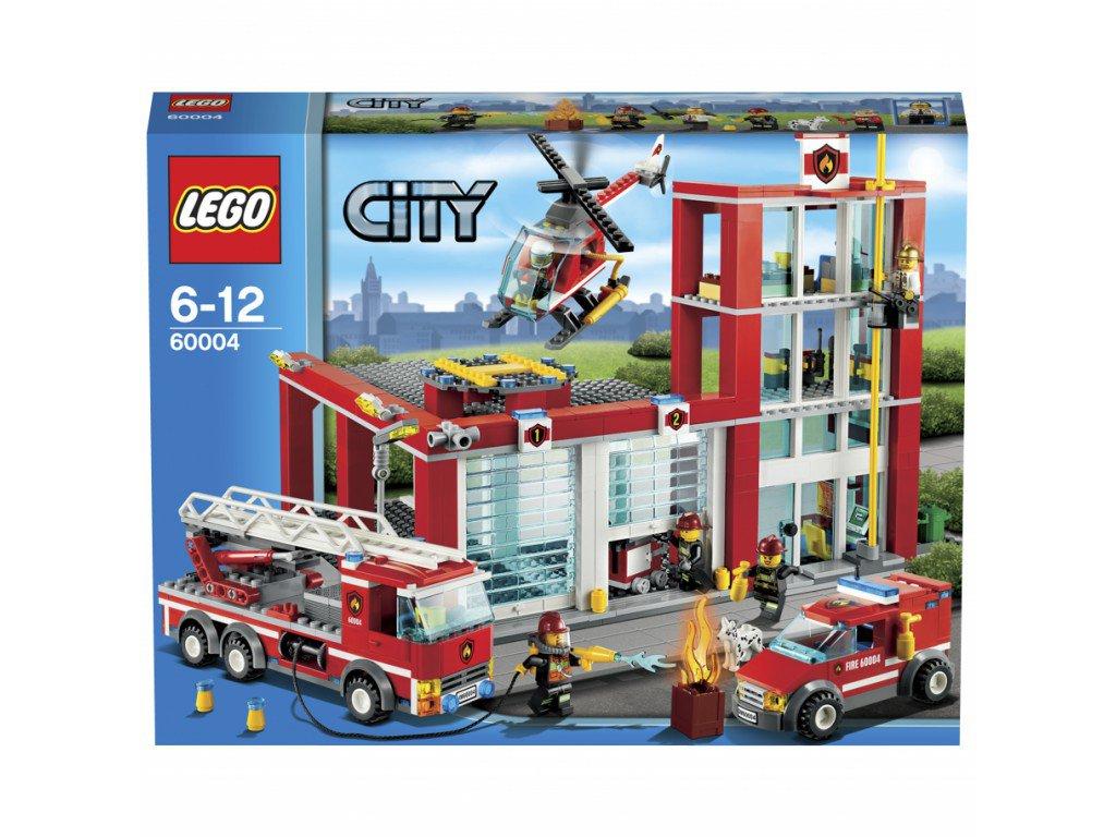LEGO 60004 City Fire Station Set by alextoys