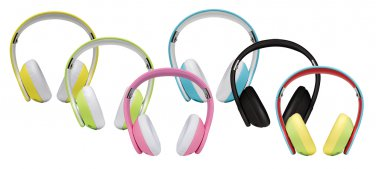 Margaritaville On-Ear Monitor Headphones with Microphone Sealed box Mix color by alextoys