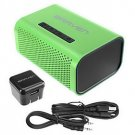 Braven 440 Speaker System - 6 W RMS - Wireless Speaker - Green, Black by alextoys