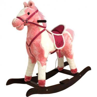 Tek Nek Rockin' Rider Rocking Horse - Rainbow by alextoys