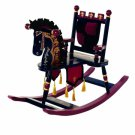 Levels of Discovery Kiddie Ups Prince Wooden Rocking Horse by alextoys