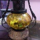 Vintage Lantern Lamp Designer Nautical Handcrafted Hanging Lamp with Woo