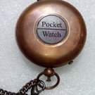 Amazing Vintage  Push Button Pocket Watch Christmas gift , Groomsmen Gift - Fath