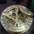 Vintage Nautical Sundial Compass Maritime old style Brass Directional Compass