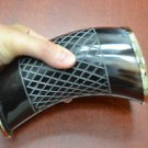 Amazing Diamond Pattern Stripe Buffalo Horn Game of Throne Medieval Viking Drink