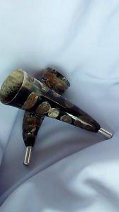 Carved Horn Bugle / Bigul -- blowing horn,Hunting Tool, Resonating bigul
