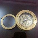 "(25.01) Nautical Compass 3""~Replica Henry Hughes Son London 1941 Magnifier lens"