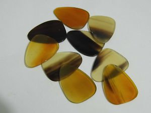 Amazing Guitar Buffalo Horn Guitar Pick / Plectrum handcrafted  lot of 10