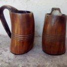 Large Viking drinking horn Rustic mugs beaker Game of thrones ceremonial wedding