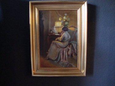Art Deco Painting Scandinavia