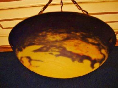 Art Nouveau Ceiling Lamp France