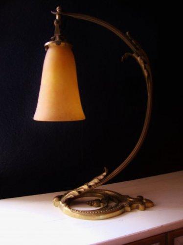 Art Nouveau Table Lamp Daum Nancy France