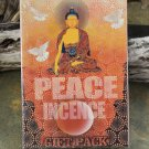 Peace Buddha Incense 5 in 1 Gift Pack