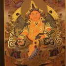 "Zambala Handpainted Thangka Painting(15""x20"")"