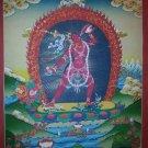 """Yogini Handpainted Thangka Painting(18""""x24"""")"""