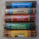 Himalayan Tibetan Incense Stick- 5 Set