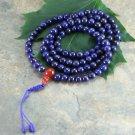 Lapis 108 Beads Prayer Mala,NEPAL
