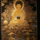 """Shakya Muni Buddha  Handpainted Thangka Painting(16""""x22"""")"""
