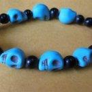 Skull Tibetan Buddhist  Beads Bracelet-I