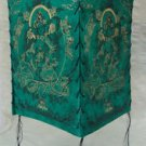 Green Tara Green Natural Lokta Paper  Lamp Shade-I,Nepal