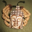 Buddha Yak Bone Stretchable Bracelet, Nepal