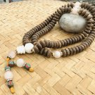 Tadi Mala for Meditation and Yoga With Conch Guru Bead and Spacer