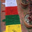cotton Mixed Vertical Pole Prayer Flags
