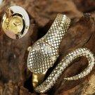 Add to Cart Jewelry Snake bezel luxury watch bangle christmas gift