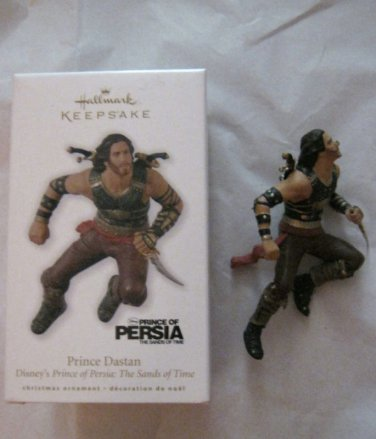 Hallmark Prince Persia Dastan Disney Ornament NIB w/tag