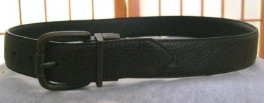 Levis brown grain leather belt  M 28 NWOT bronze buckle