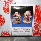 Floyd & Fitz Omnibus Renaissance Santa Salt & Pepper set w/box 1994