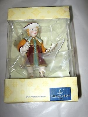 "Villeroy & Boch Scuola di Angell Leonado ornament 4"" New in Box"