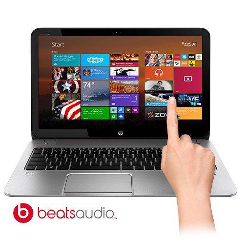 "HP ENVY TouchSmart Touchscreen 15-j009wm Fusion Quad-Core A8-5550M 2.1GHz 8GB 750GB 15.6"""