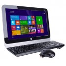 """HP 18-5010 18.5"""" Fusion Dual-Core E1-2500 1.4GHz All-in-One PC"""