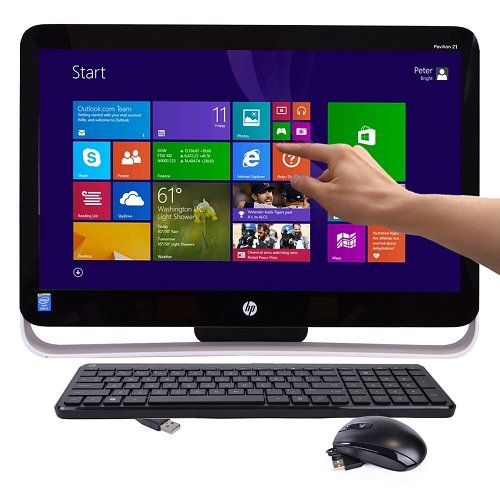 "HP Pavilion 21-h013w TouchSmart 21.5"" Pentium G3220T Dual-Core 2.6GHz All-in-One PC"