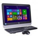 "HP 20-r013w 19.5"" Celeron N3050 Dual-Core 1.6GHz All-in-One PC - 4GB 500GB DVD"