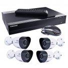 Samsung SDH-B3040 4-Ch 1TB 720p HD DVR Video Security System