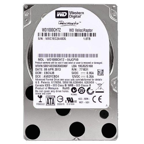 "Western Digital VelociRaptor WD1000CHTZ 1 Terabyte (1TB) 2.5"" Hard Drive"